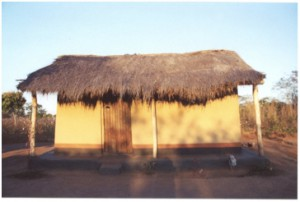 village hut