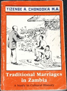 This book has fascinating details on how marriages were traditionally conducted.