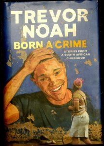 "Book Cover ""Born a Crime."""