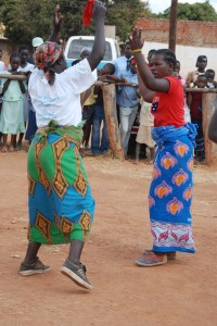 Women dancing the Kioda at the annual Agricultural Show in Lundazi in the Eastern Province in July 2007.