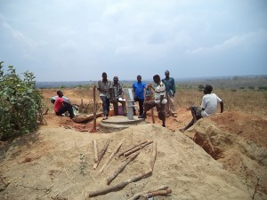 Drinking Water Bore hole pump Completed